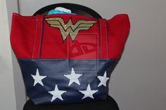 Wonder Woman inspired Beach Bag by ~Kyrdora