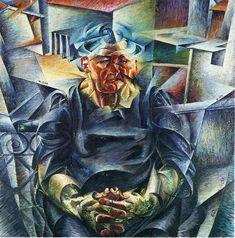 Umberto Boccioni - La Madre