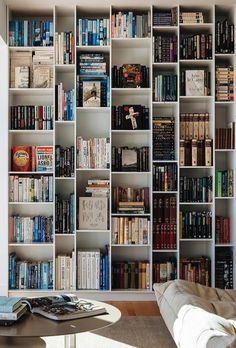 Books and a white shelf