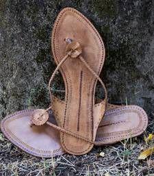 Buy Thin Braid Kolhapuri Slip On footwear online
