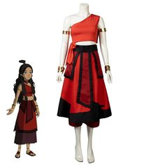 Avatar The Last Airbender Katara Cosplay Costume mp005593