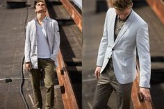 Strellson Spring/Summer 2015 Men's Lookbook | FashionBeans.com