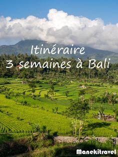 Bali est une petite île qui regorge d'activités et de choses à voir. En trois semaines, visitez l'essentiel ! Retrouvez mon itinéraire et la carte
