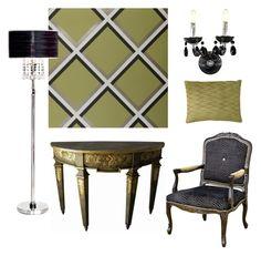 """Citrus Burst"" by serendipityhome on Polyvore featuring interior, interiors, interior design, home, home decor, interior decorating and contemporary"