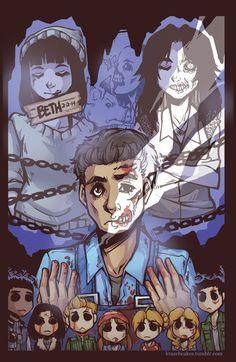 Until Dawn - Art done by KrazyD on DeviantArt :)