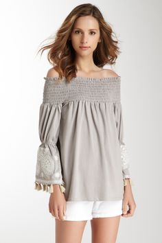 VAVA Selly Off the Shoulder Top