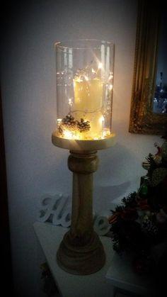 Fotoblog užívateľky milenass | Modrastrecha.sk Christmas Trees, Candle Holders, Table Lamp, Candles, Lighting, Home Decor, Xmas Trees, Table Lamps, Decoration Home