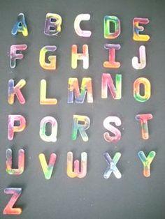 Kennedy Design 254: Crayon Typeface Round Two!