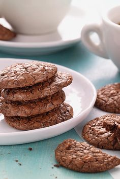 Gluten-Free Almond Flour Chocolate Cookies Recipe - *substitute Swerve for sugar