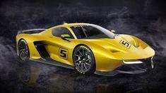 Мир авто.: Fittipaldi EF7 GTR.