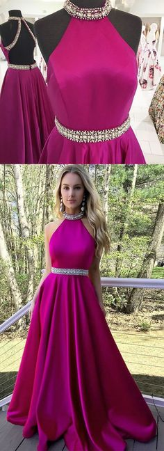 Backless A-Line O-Neck Prom Dresses,Long Prom Dresses,Cheap Prom Dresses, Evening Dress Prom Gowns, Formal Women Dress,Prom Dress