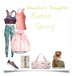 """""""Demeter's Daughter Spring #6"""" by h-zita ❤ liked on Polyvore featuring Under Armour, New Balance, Lulie Wallace, ban.do, Kitsch, percyjackson, pjo, Demigod and demeter"""