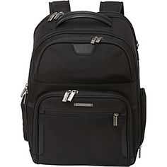 Buy the Briggs & Riley Large Clamshell Laptop Backpack - Checkpoint Friendly at eBags - Bring all your business travel or daily commute necessities with you with hands-free comfort and cri