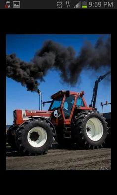 Fiatagri 160-90 tractor pulling