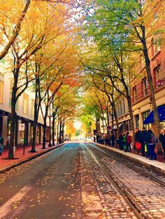Keep Portland Weird - Portland, OR in the fall