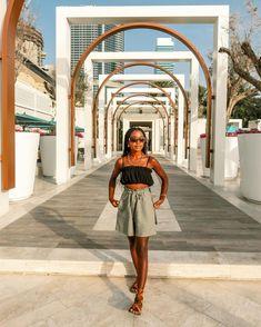 "Hali Oduor on Instagram: ""Soaking up the sun @driftbeachdubai ☀️ Shorts: @kipepeocollection Necklace: @kipepeocollection #visitdubai #traveldubai #travelblogger…"" Dubai Places To Visit, Visit Dubai, Dubai Travel, Photoshoot Ideas, Dream Life, Memphis, Sun, Mood, Shorts"