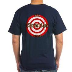 Men's V-Neck T-Shirt> Target> Unique Designs Divinely  Inspired