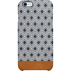 Uncommon Moroccan Geometry iPhone 6 Plus SS Deflector Case ($29) ❤ liked on Polyvore featuring accessories, tech accessories and multi