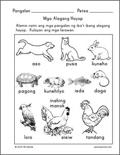 Posts about Filipino Lessons written by samutsamot_mom 1st Grade Worksheets, Tracing Worksheets, Kindergarten Worksheets, Printable Worksheets, Printables, Tagalog, Filipino, Activities For Kids, Writing