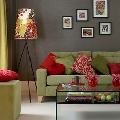 Red green color scheme. Where can I get this lamp?!