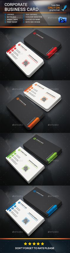 Business Card — Photoshop PSD #creative #rare • Available here → https://graphicriver.net/item/business-card/14973743?ref=pxcr