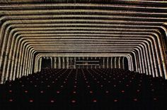 Cineteca Del Matadero in Madrid, Spain would be a great place to see a sci-fi film. Orange Cinema, Movies To Watch, Good Movies, Aesthetic Space, Bon Film, Interesting History, Movie Theater, Theatre, Bored Panda