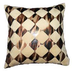 Hexagon Design Decorative Throw Pillow