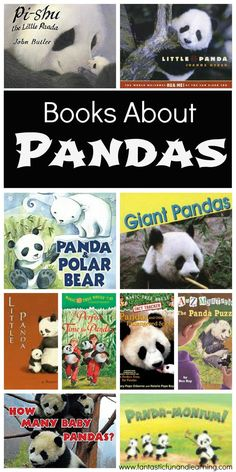 Books About Pandas for kids to read or to read with kids!