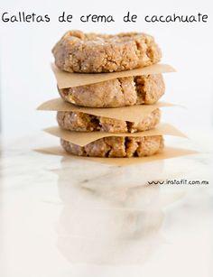 Para los amantes de la galletas, pero también de su cuerpo. No necesitas horno para hacerlas.