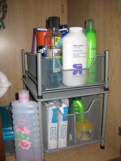 Bathroom Organization - A great place to keep extra Ivory 2-IN-1! @influenster