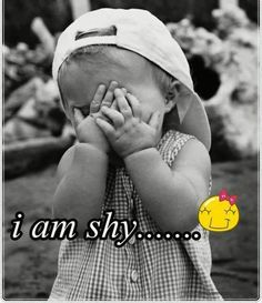 i am shy........ :-D I am not easy to get to know. I am really bad at small talk. A couple of my weaker points.