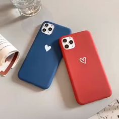Matte Heart iPhone Case - Things to use - Matte Heart iPhone Case – Things to use - Bling Phone Cases, Diy Phone Case, Cute Phone Cases, Iphone Phone Cases, Phone Covers, Iphone 10, Coque Iphone, Free Iphone, Capa Apple
