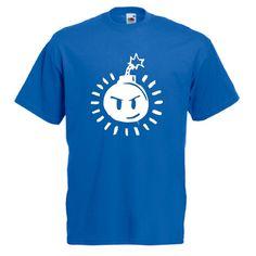 New Hot SEX BOB OMB LOGO Scott Pilgrim vs The World Comic Blue T-Shirt Tee S-2XL