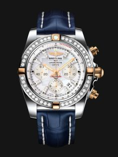 Call 813-875-3935 or 727-898-4377 to buy! The Chronomat 44 is the leading Breitling collection. Its powerful and unique style makes it THE chronograph for all pilots.