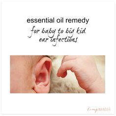 A simple protocol for quick relief from childhood ear infections!