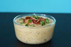 The Friendly Fox: A healthy potato soup!
