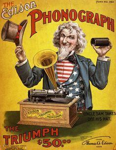 "Edison Phonograph ""Triumph"" Model"