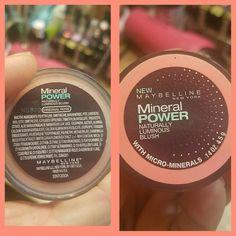 Brand new Maybelline mineral power blush (original rose)