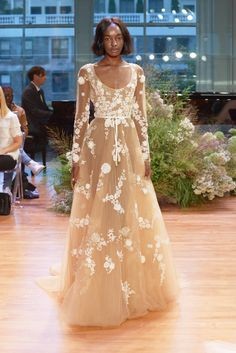 Designers like Monique Lhuillier, Reem Acra and Inbal Dror showcased their fall 2017 bridal collections.