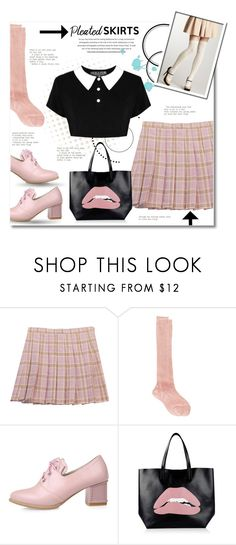 """Pleats, Please"" by anitadz ❤ liked on Polyvore featuring Chicnova Fashion, Maria La Rosa and RED Valentino"