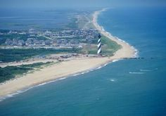 Camp Hatteras RV Resort On the Outer Banks.  The Only Oceanfront to Soundfront Camping in NC.  Rodanthe NC