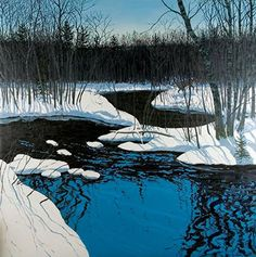 Unyarded Deer by Neil Welliver