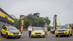 Team MyCityByNight at the start line of the inaugural Dunlop Hamba Heritage Rally.