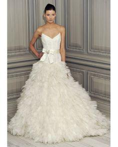 Monique Lhuillier, Spring 2012 Collection  Ball Gown: moniquelhuillier.com