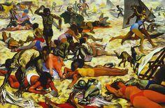RENATO GUTTUSO. 1911. -  1987   La spiaggia