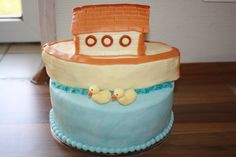 Top of Babtism cake for Maria