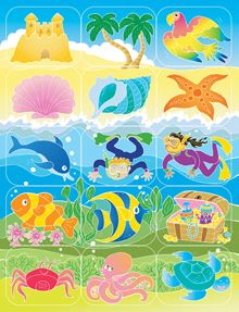 EquippingKids - Island Assortment Stickers (Pack of 150) - SonTreasure VBS 14, $4.24 (http://www.equippingkids.com/island-assortment-stickers-pack-of-150-sontreasure-vbs-14/)