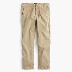 fae74c535cecf0 J Crew Chrome Pants Men 770 Straight-Fit Lightweight Garment-Dyed Stretch  Chino J Crew London   Sits below waist
