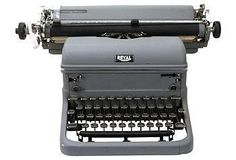 The writer in him will jump for joy at the sight of this beautiful typewriter.