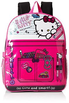 0df0c8b5b00d Hello Kitty Girls  Composition 15 inch Backpack with Lunch Kit